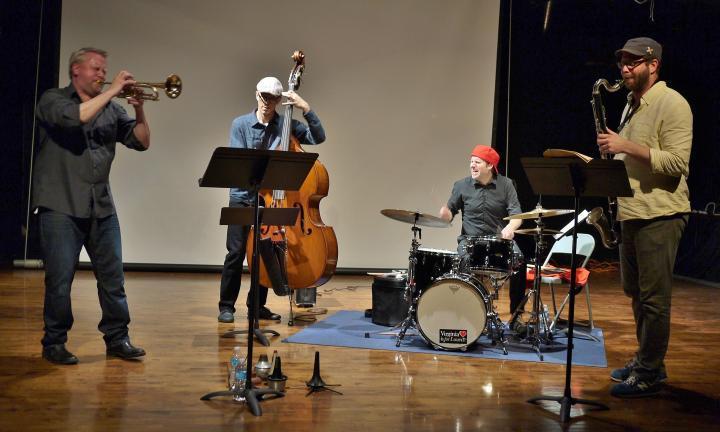 Russ Johnson Quartet